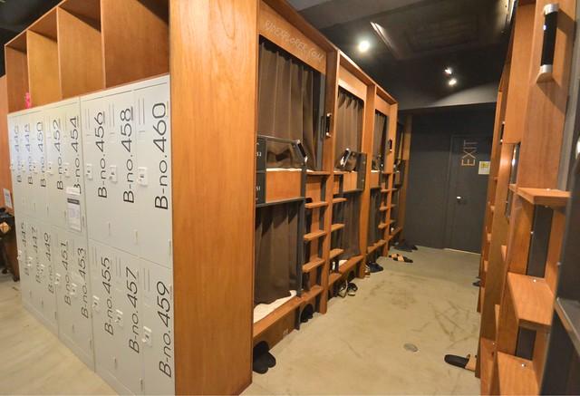 the dorm hostel osaka capsule beds