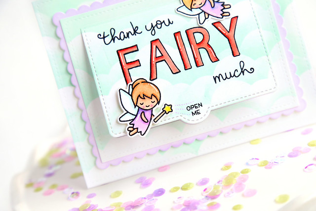thank you fairy much (Lawn Fawn inspiration week)