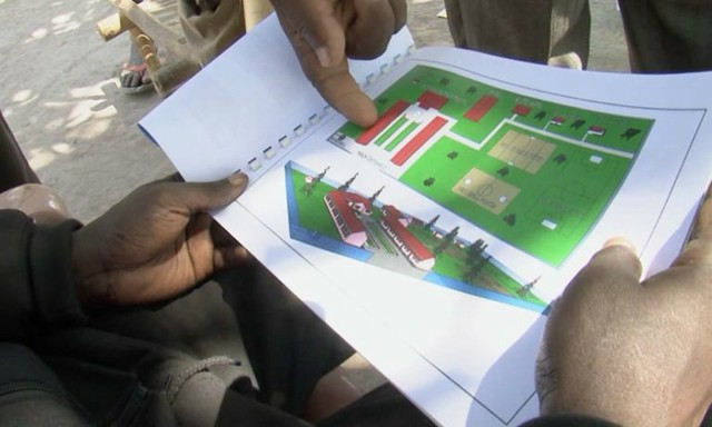 Plans for South Sudan school