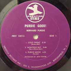 BERNARD PURDIE:PURDIE GOOD!(LABEL SIDE-A)