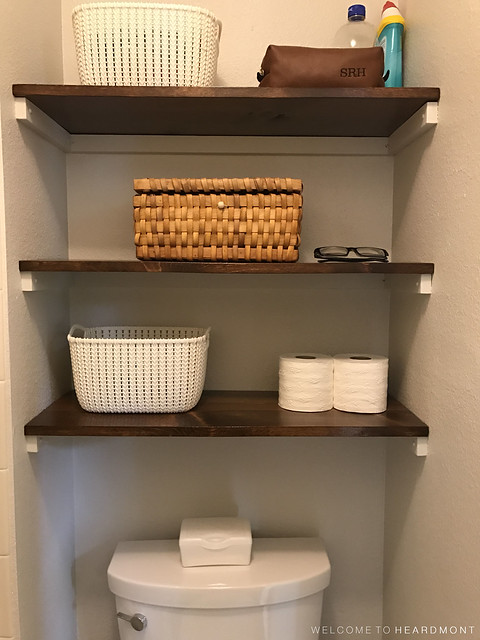 New Bathroom Shelving | Welcome to Heardmont