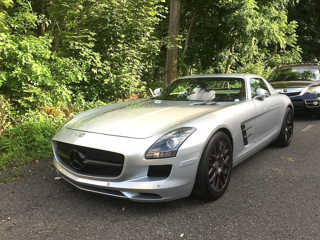Mercedes SLS AMG Spotted 2