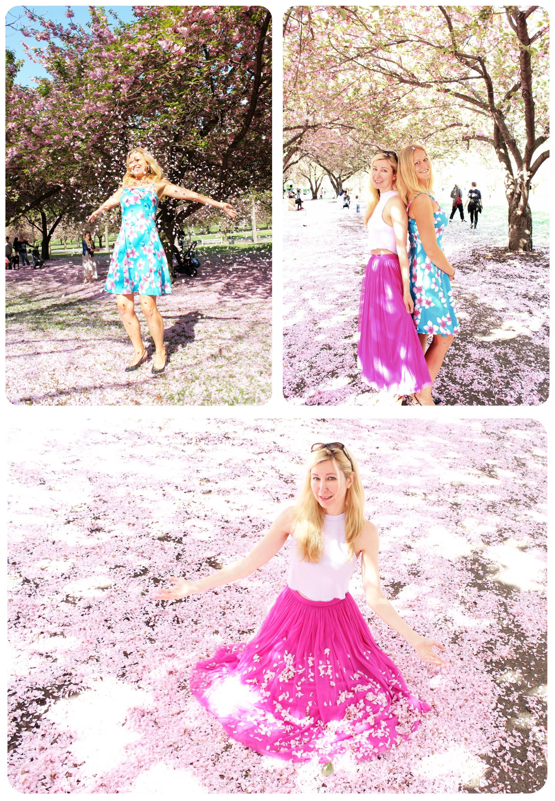 Spring blossom photo shoot
