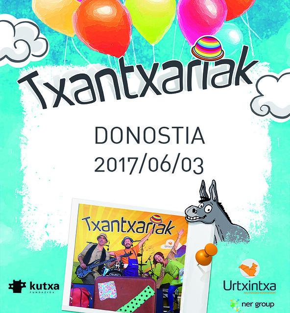 Txantxariak Donostian 2017/06/03