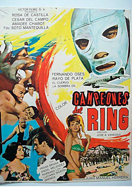 Póster de la película Campeones del Ring