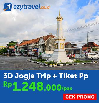 3D Jogja Trip + Tiket PP