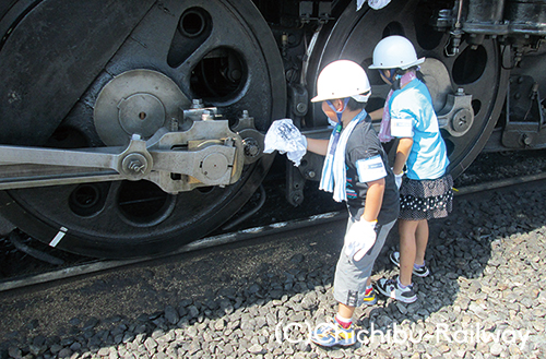 【6/28(水)9時~WEB予約開始】広瀬川原車両基地でSL見学・体験