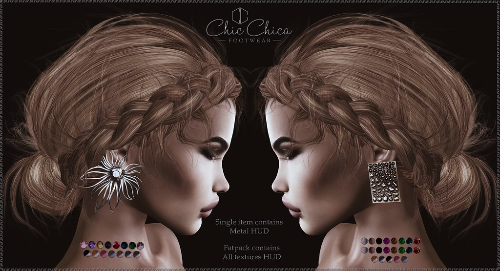 Teya and Afina earrings by ChicChica OUT @ Tres Chic
