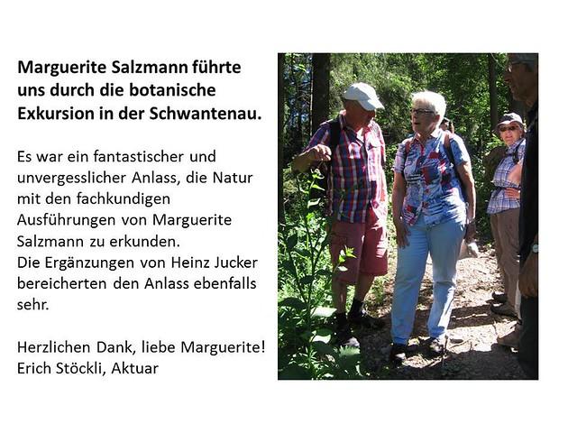 2017 Botanische Exkursion In der Schwantenau