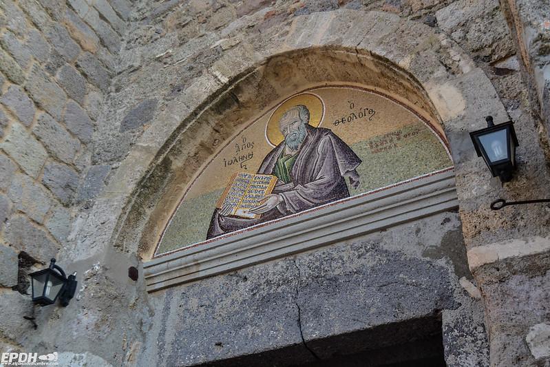 Entrada al monasterio de Patmos