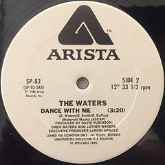 THE WATERS:DANCE WITH ME(LABEL SIDE-B)