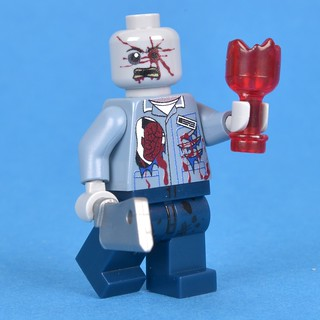 Minifigure Maddness' first surprise minifigure is a zombie