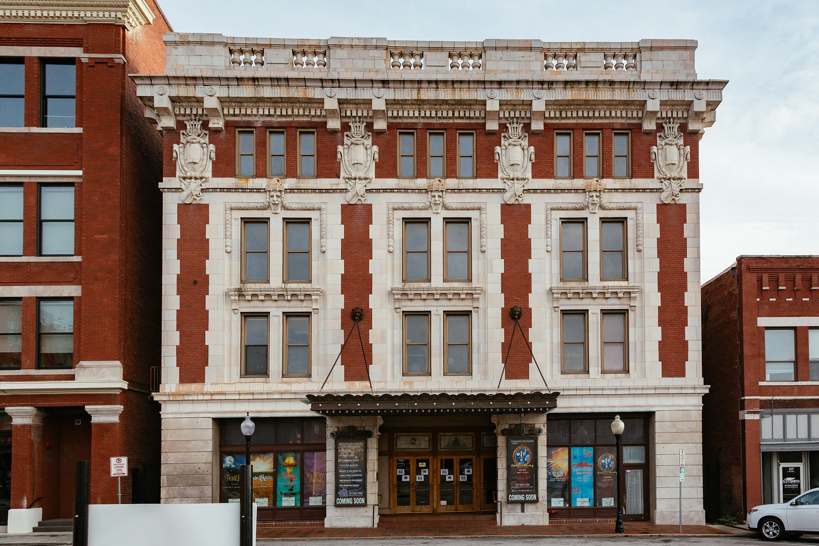 Landers Theater/Springfield Little Theater, downtown Springfield, Missouri