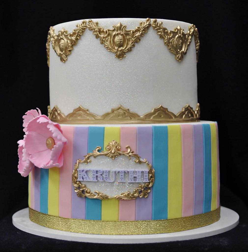 Carnival themed birthday cake Jenny Wenny Flickr
