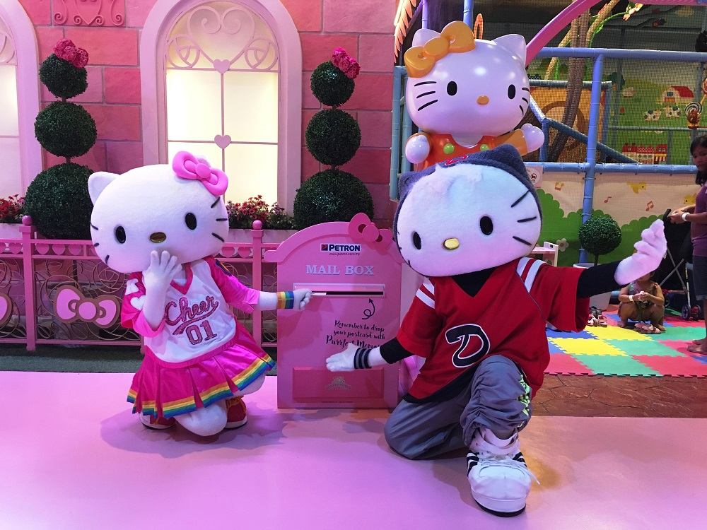 Hello Kitty Postcards Sanrio Hello Kitty Town