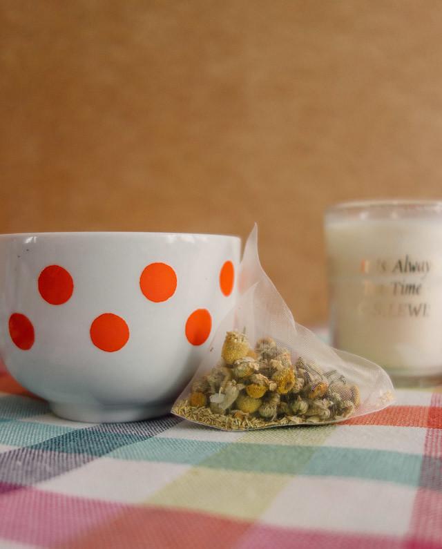 chammomile tea from la juniper