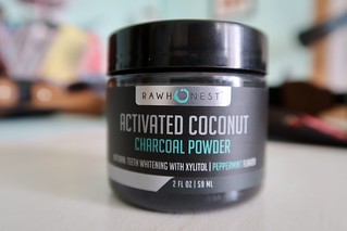 Teeth Whitening w/ Activated Charcoal Powder + Coconut And Xylitol