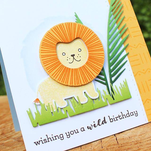 Wild Birthday Card 3