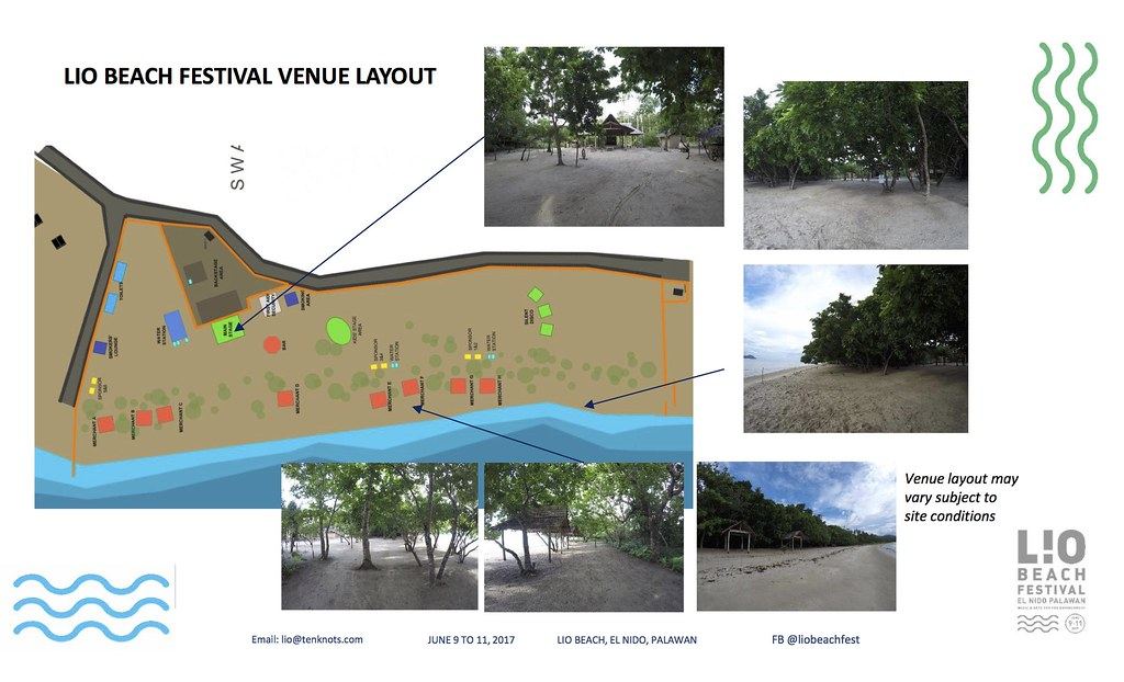 Lio Beach Festival 2017- Layout