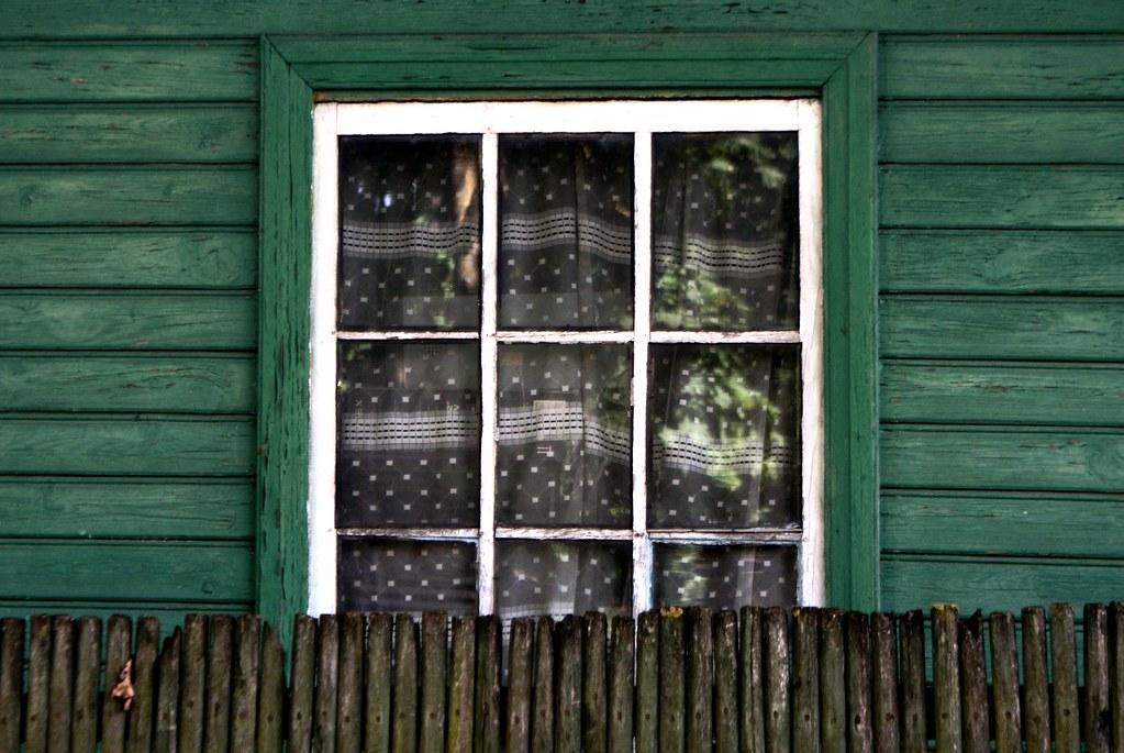 Maison en bois dans le quartier de Pardaugava à Riga.