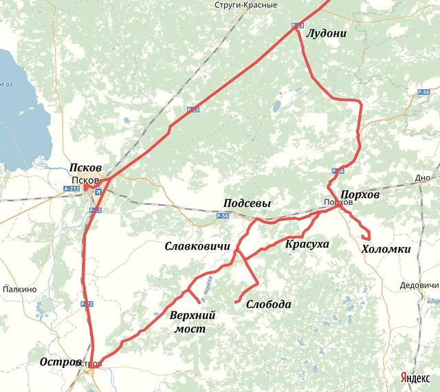 Map of Pskovskaya 2017