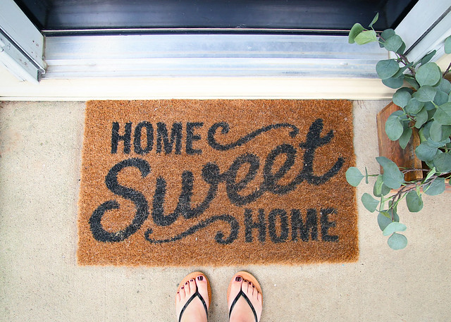 Farmhouse Front Door Mat