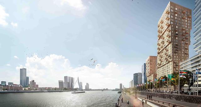 Boompjes 60-68 nieuwbouw Rotterdam 1