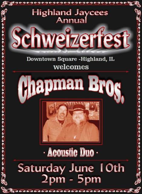 Chapman Bros 6-10-17