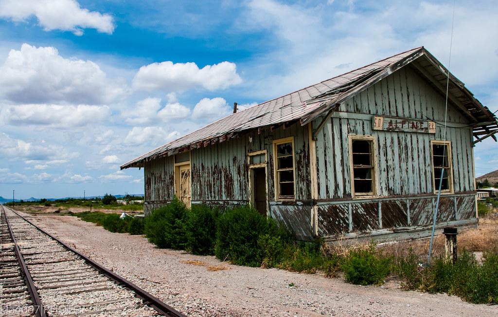 Alpine, TX train station | Alpine, Texas train station ...