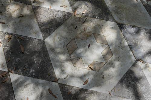 Villa Durazzo Pallavicini: Coffee House ( pavimento: esterno)