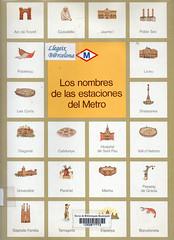 Josep María Espinás, Los nombres de las estaciones de metro