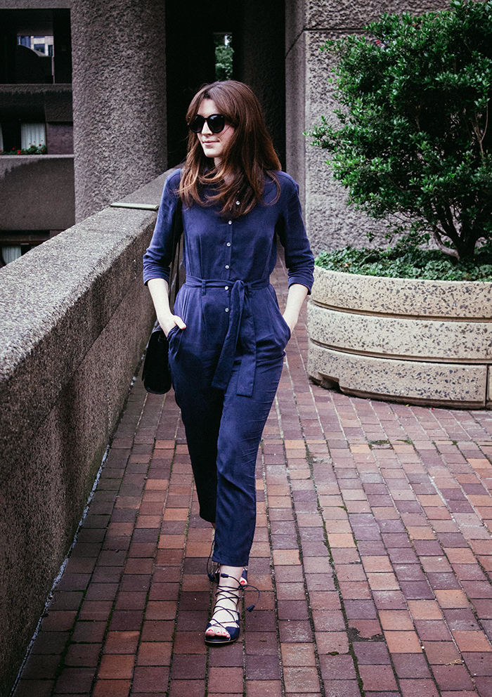 Great Plains Timed Out Boilersuit | London Fashion Blogger | Street Style