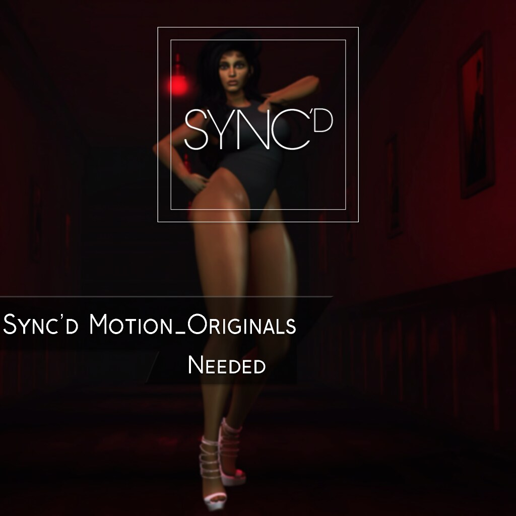 Sync'd Motion__Originals - Needed Pack @ Designer Drive