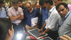 Solar Workshop Module Practicals on 09th & 10th June 2017