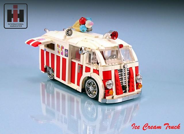 lego ice cream van instructions