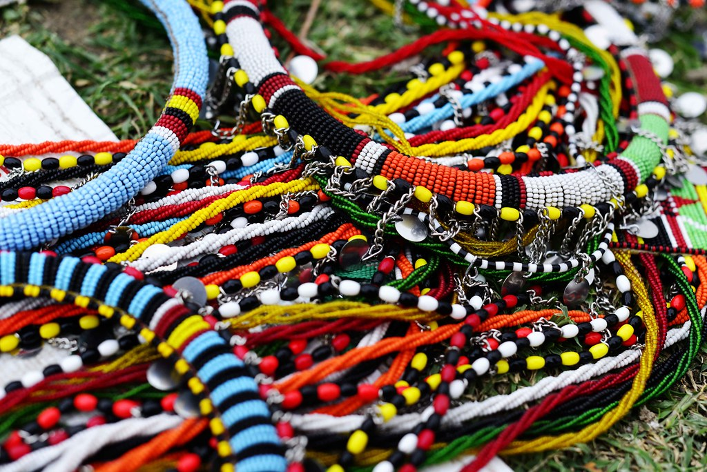 Maasai beadwork | The kaleidoscopic charm of Maasai beadwork ...