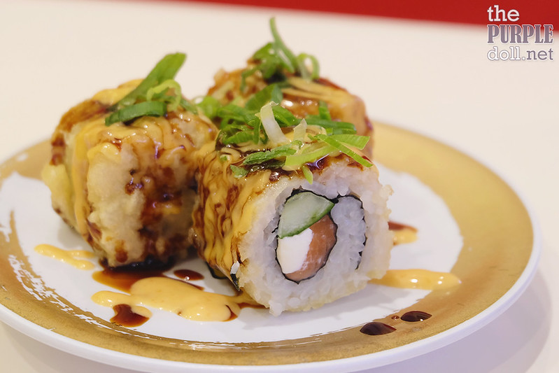 Fried Salmon Cheese Roll (P160)