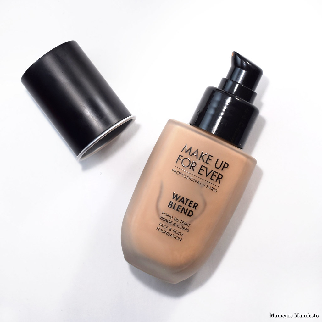 Make Up Forever Water Blend Foundation Review