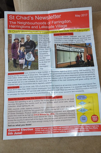 Lab leaflet Sunderland May 17 p1