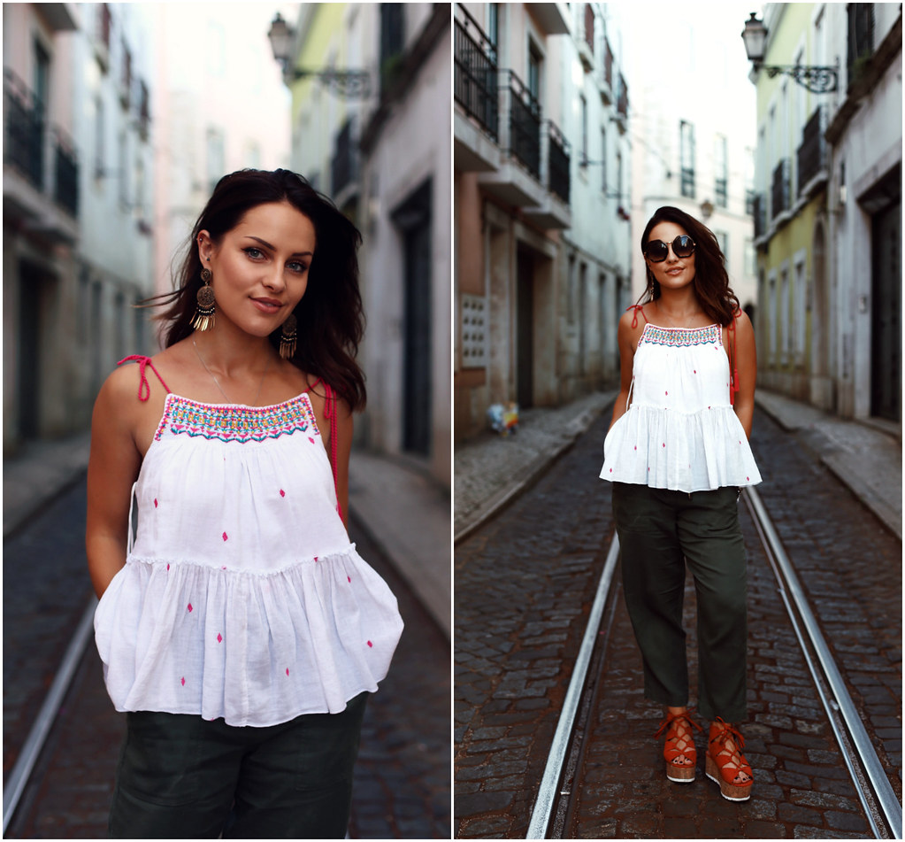 The Little Magpie Matalan Summer Outfits ideas Lisbon