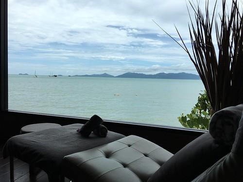 今日のサムイ島 6月23日 ボープットのシービューマッサージ@Sakura Spa