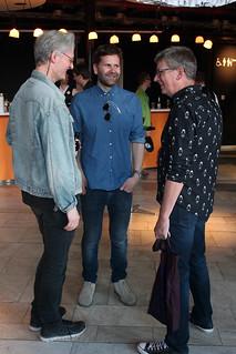 Johan Andreasson, Thomas Olsson och Derf Backderf.