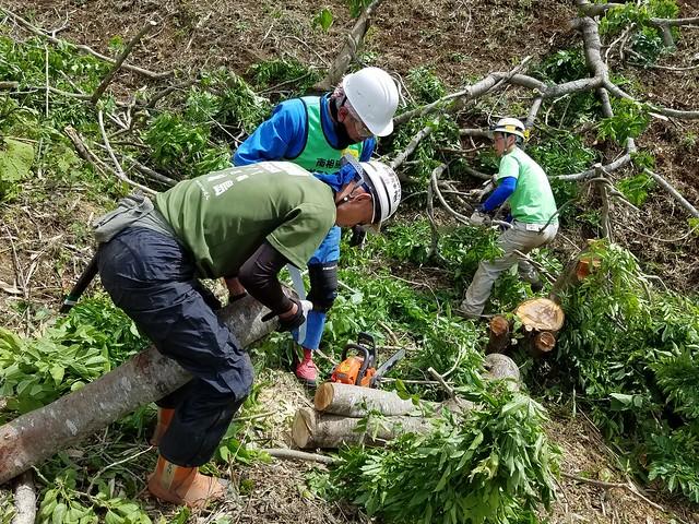 南相馬・小高でお手伝い(ボランティアチーム援人 2017年 0602便)