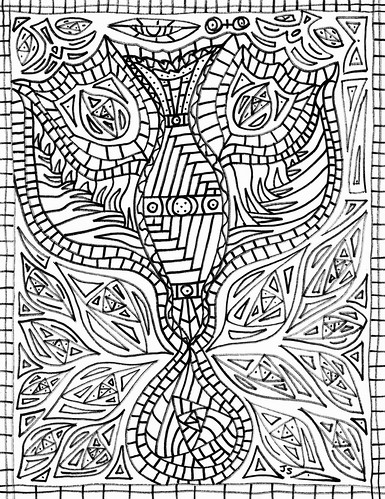 Pentecost Coloring Page: Transformation – Stushie Art