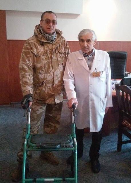 Боєць батальйону «Донбас» В'ячеслав Середюк: «Люди втомились від війни… Абійці в окопах не втомились?»
