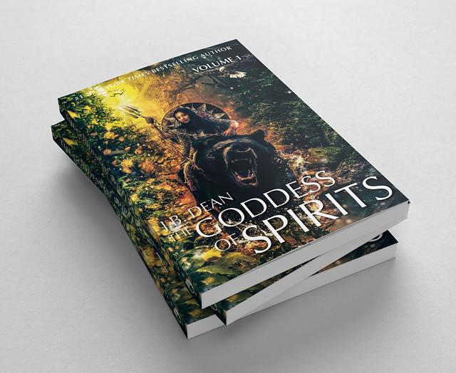 Fictional book: The Goddess of Spirits...