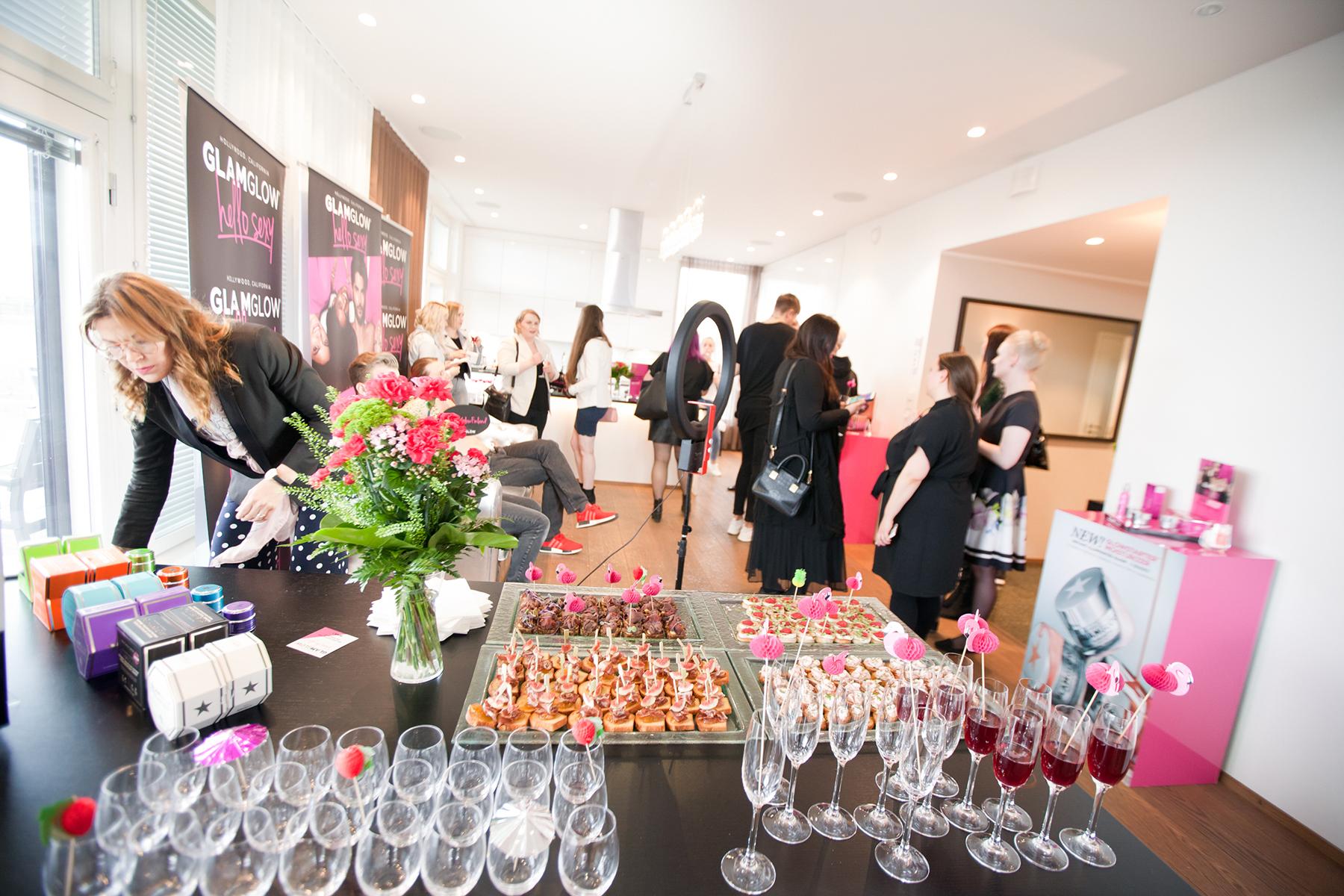 6 glamglow 11.5.2017 pr tapahtuma helsinki bloggaajat successstory pr