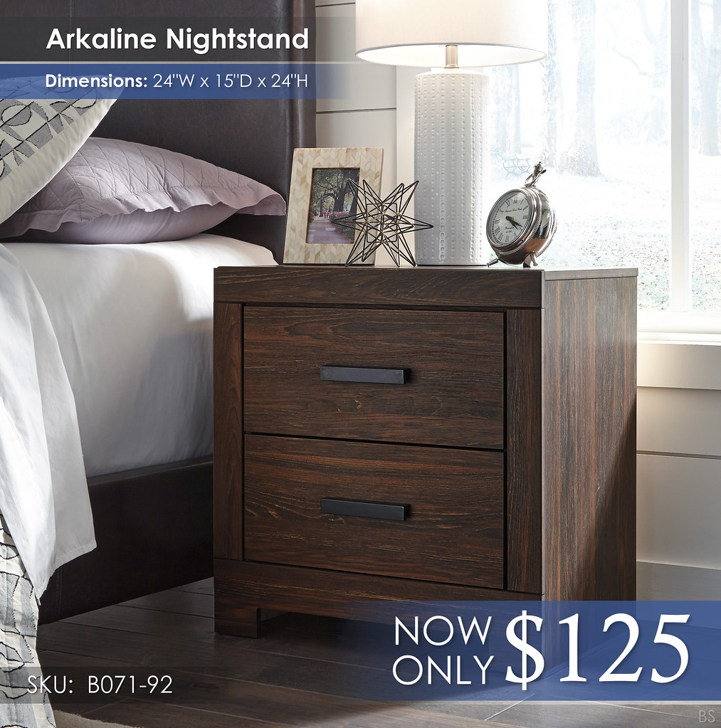 Arkaline Nightstand B071-92