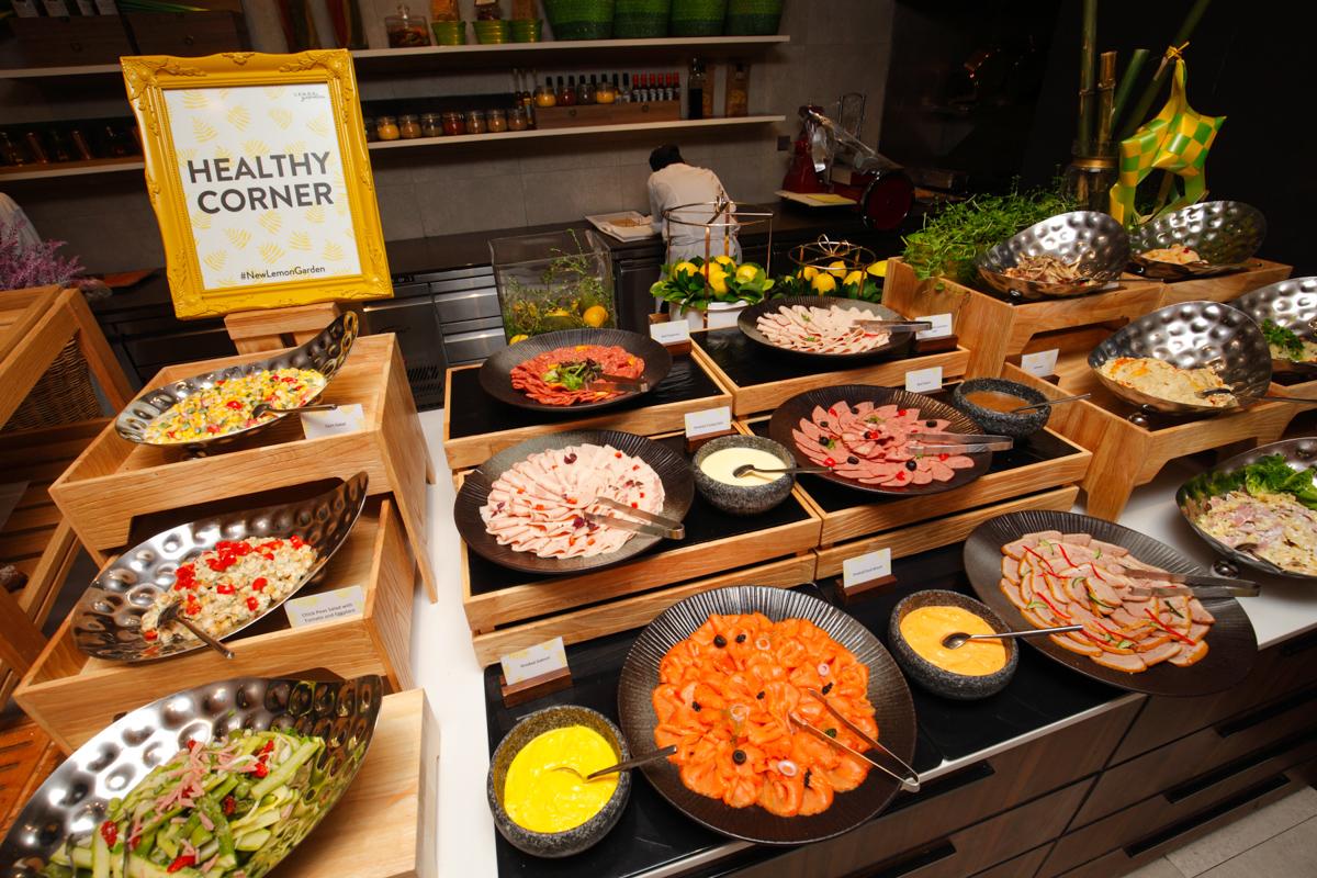 Shangri-la Lemon Garden Buffet Healthy Corner