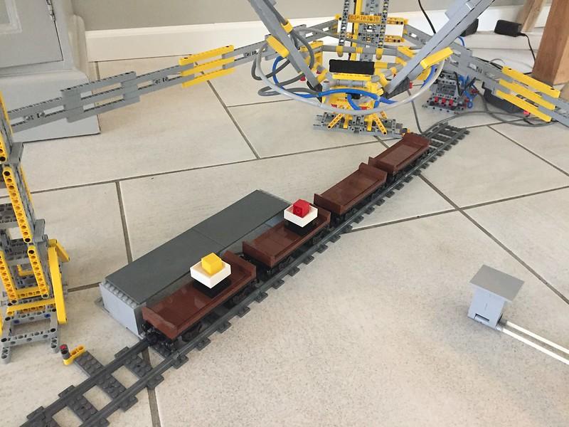 Lego Mindstorms EV3 Delta Robot
